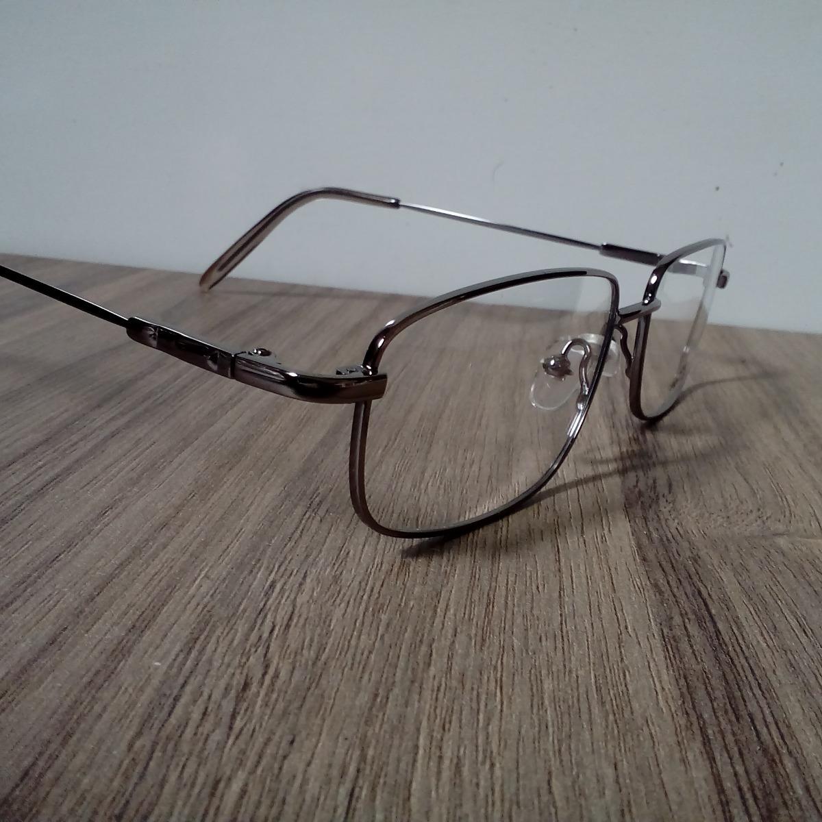 f7e572ca098a22 Armação Para Grau Metal Titanium Para Multifocal, Bifocal - R$ 39,95 ...