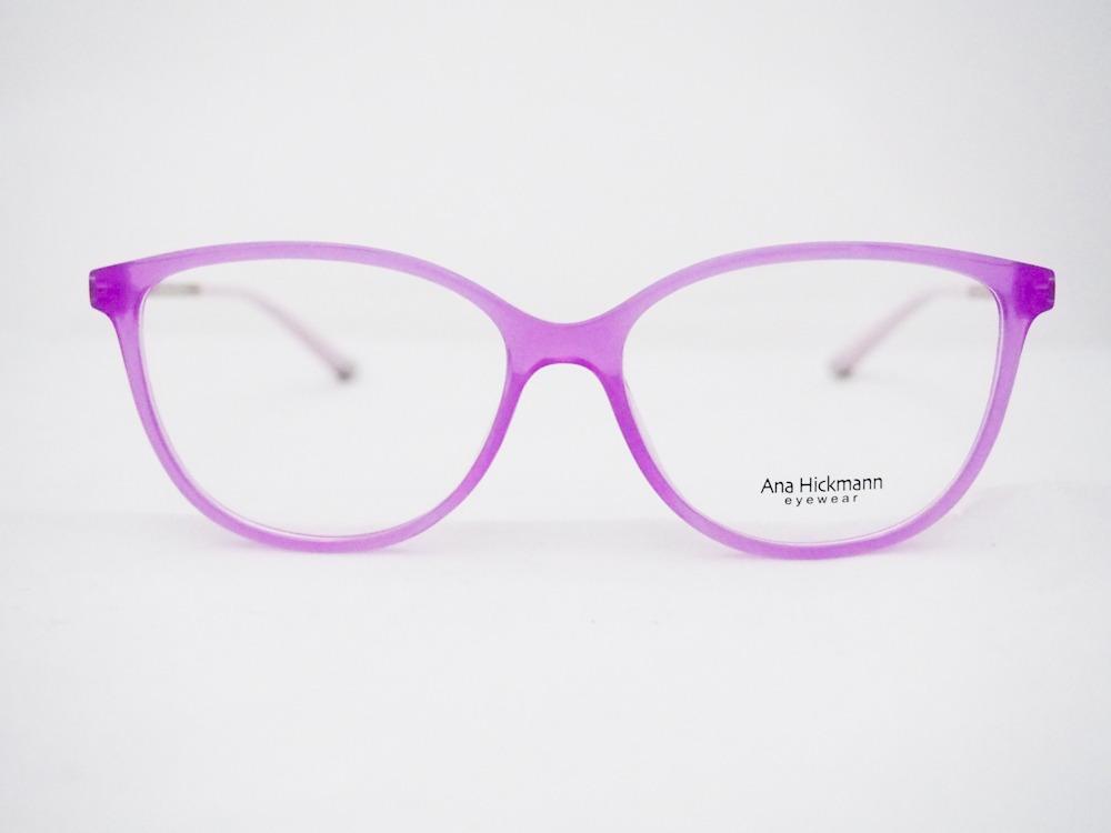 Armação Para Óculos Ana Hickmann Ah6263 Original Nfe - R  398,00 em ... 559703919c