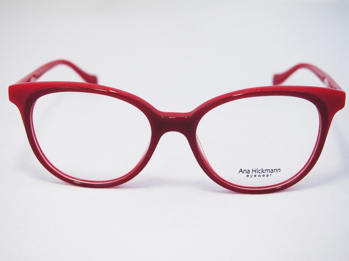 Armação Para Óculos Ana Hickmann Ah6348 Original Nfe - R  320,00 em ... 69a9c6df3c