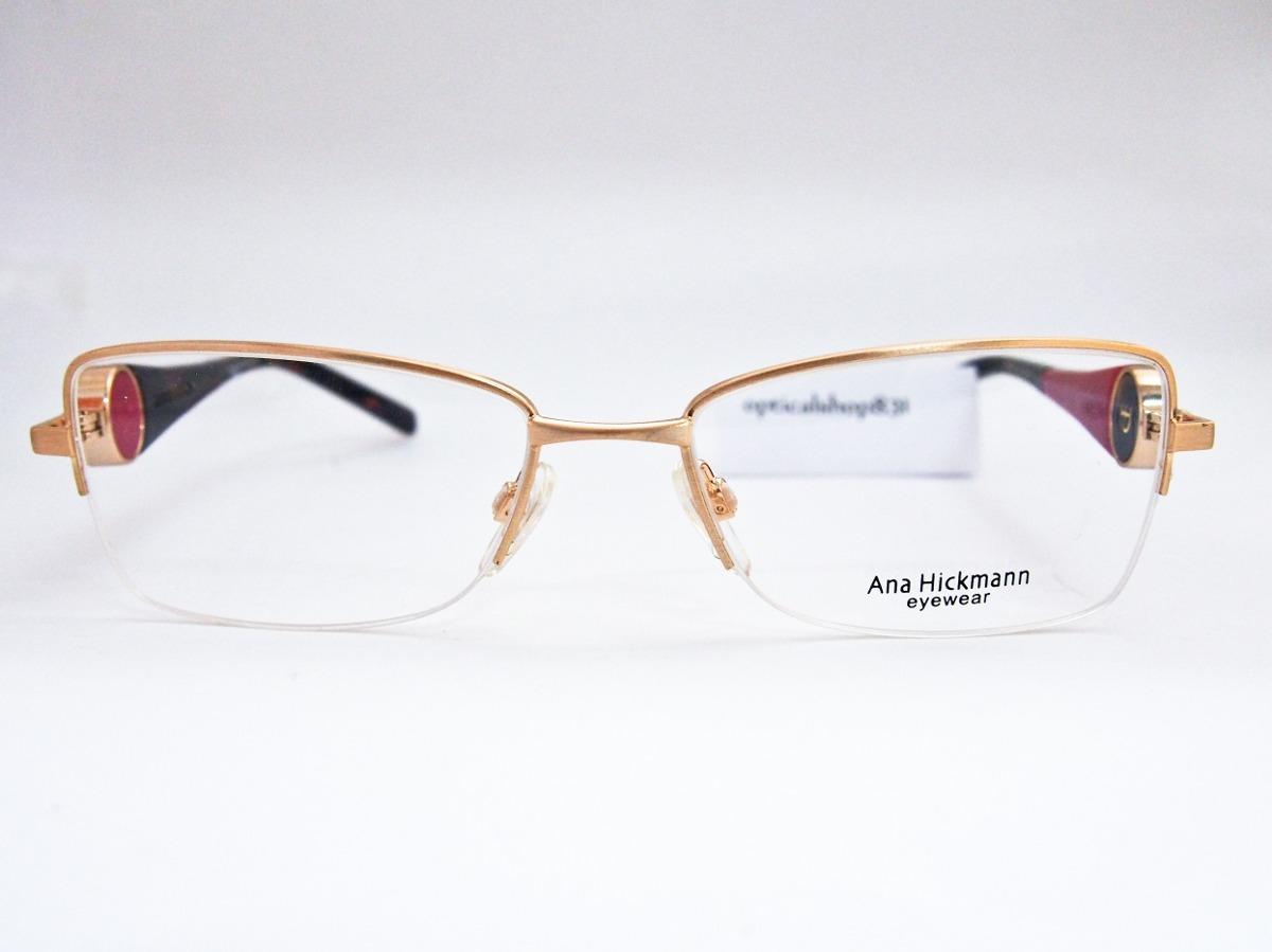 armação para óculos ana hickmann duo fashion ah1196 orig nfe. Carregando  zoom. 719e2c9cd9