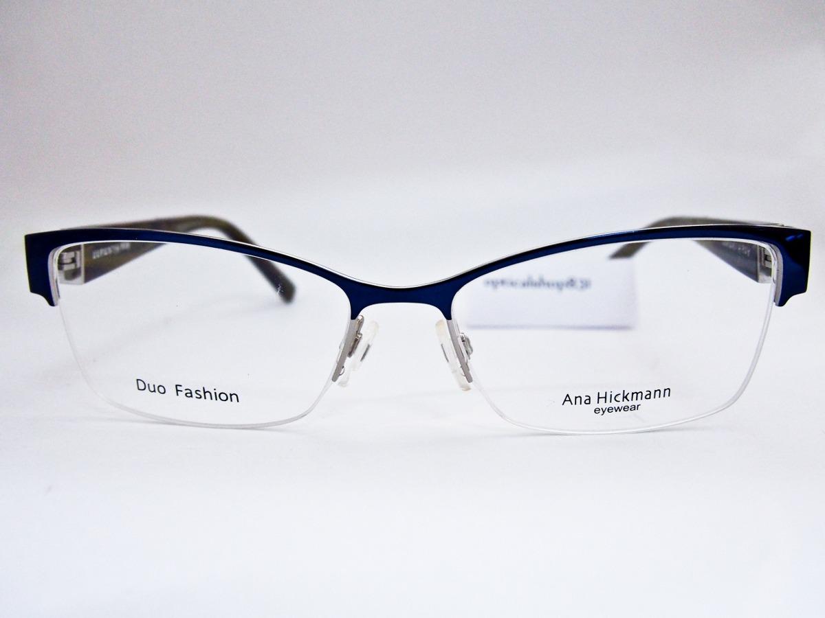 armação para óculos ana hickmann duo fashion ah1273 orig nfe. Carregando  zoom. c875b4fd42