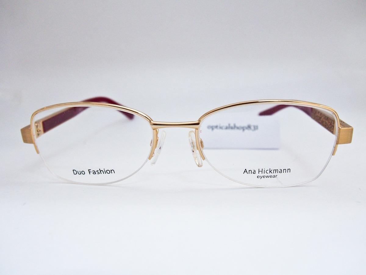armação para óculos ana hickmann duo fashion ah1284 glitter. Carregando  zoom. 307ee6b8de