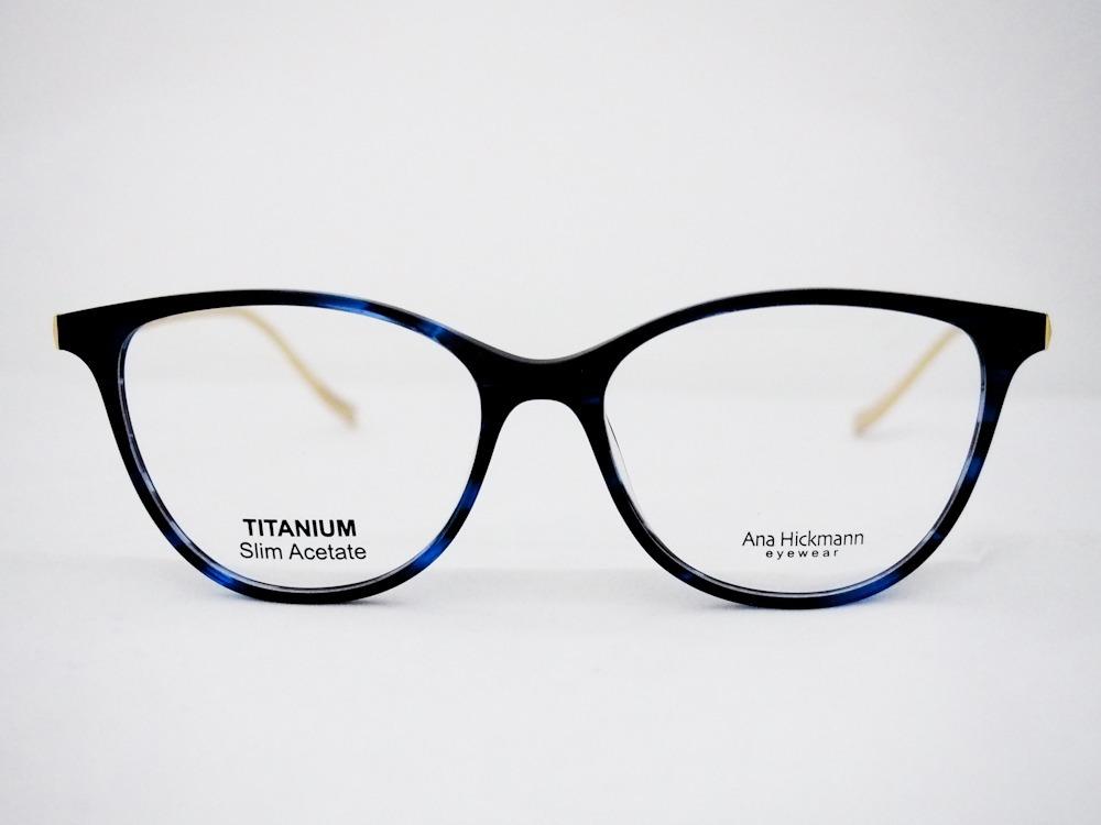 armação para óculos ana hickmann london ocean original nfe. Carregando zoom. c41b976b9f