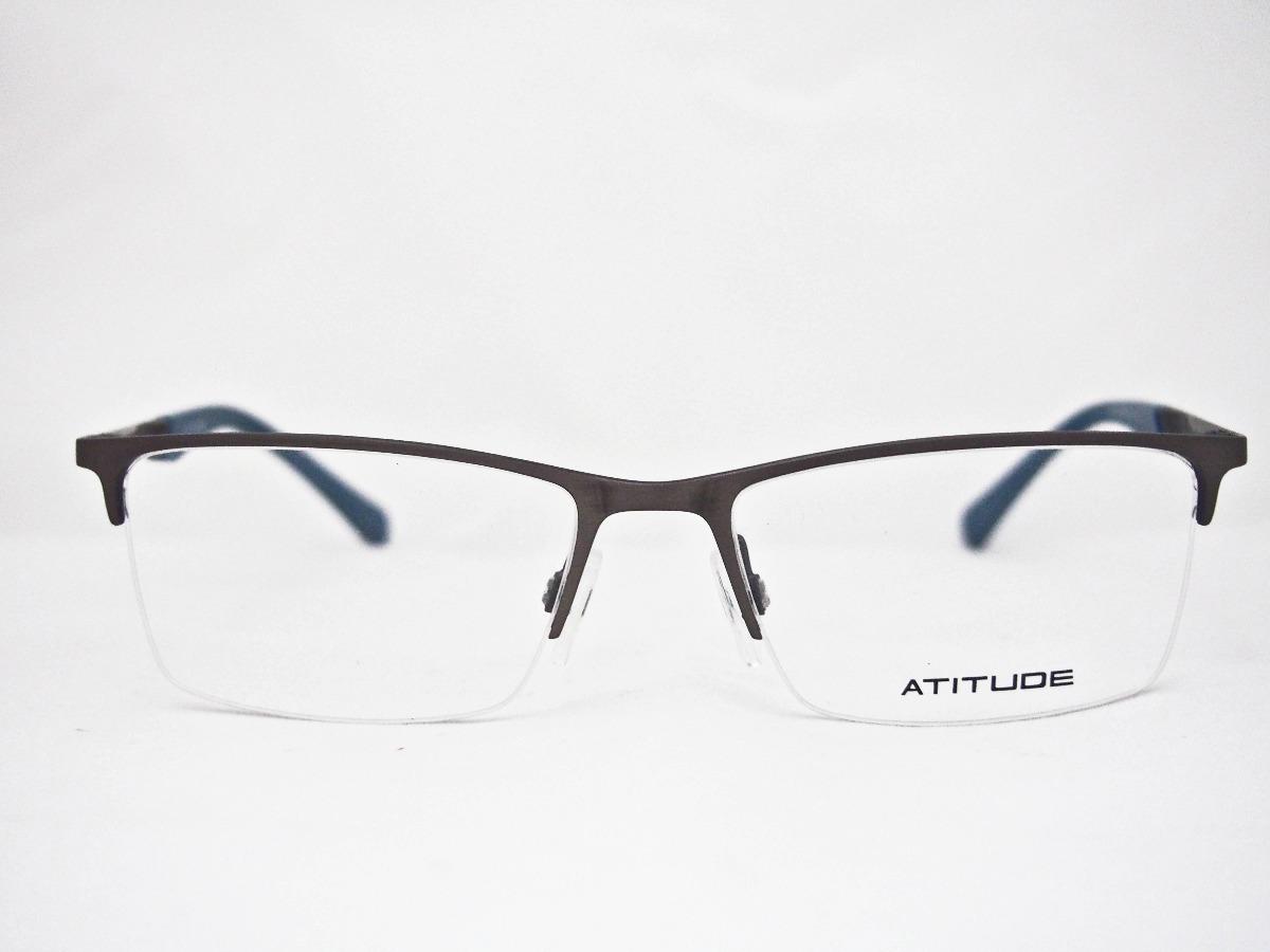 28df36bc8c6e0 armação para óculos atitude at1624 masculino. Carregando zoom.