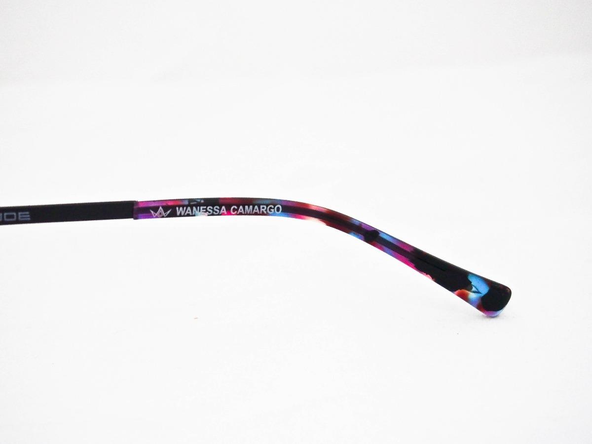armação para óculos atitude at1625 wanessa camargo feminino. Carregando  zoom. efda65f98b
