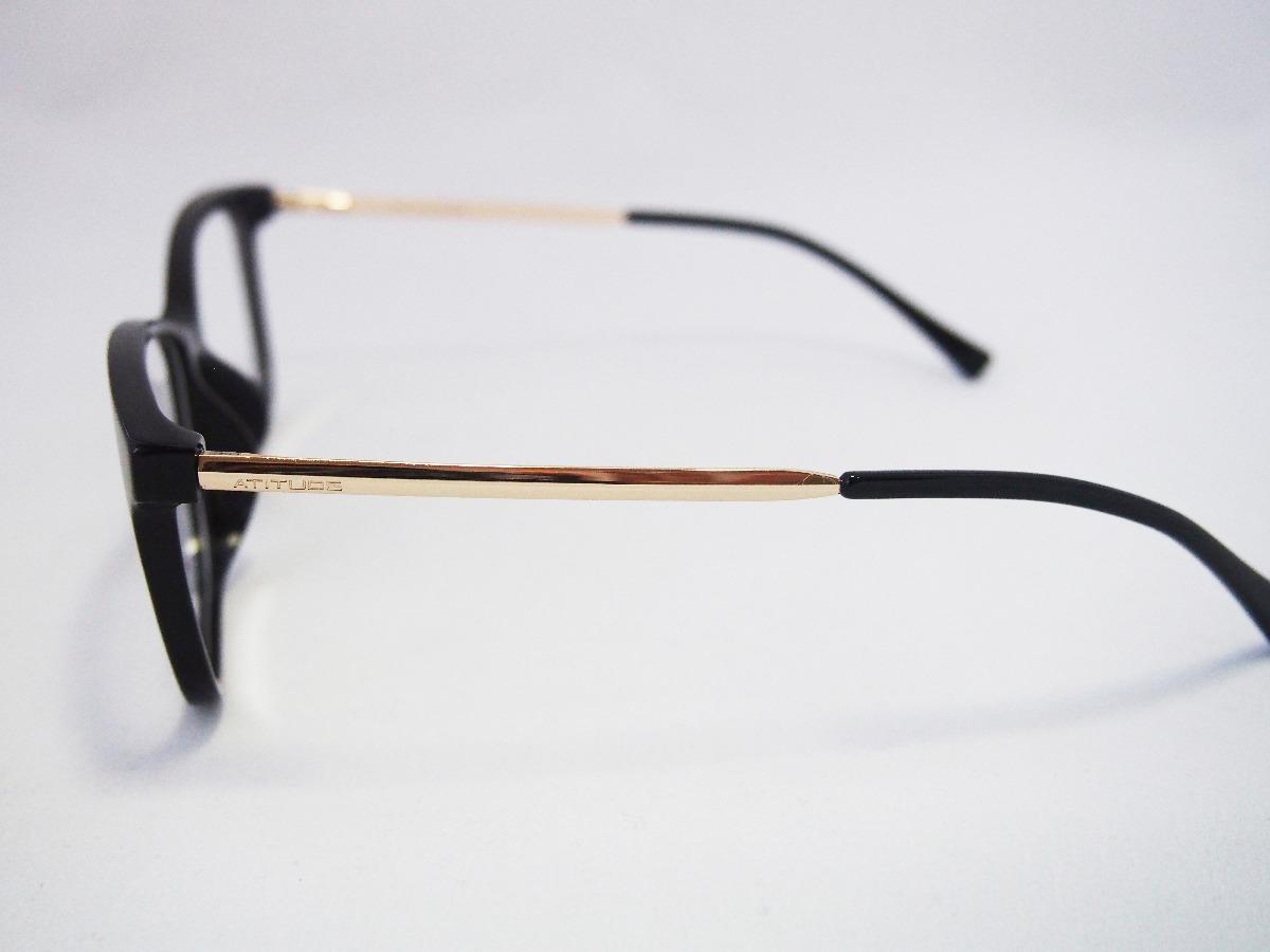 armação para óculos atitude feminina at4044l asian fit. Carregando zoom. dc39591731