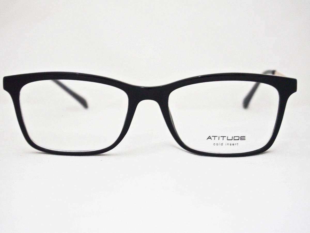 1f44254ed Armação Para Óculos Atitude Feminino At4045 - R$ 170,00 em Mercado Livre