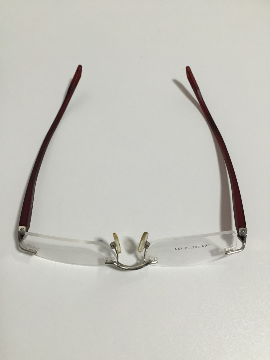 Armação Para Óculos Azzaro Sem Aro. - R  180,00 em Mercado Livre 7399e9648a
