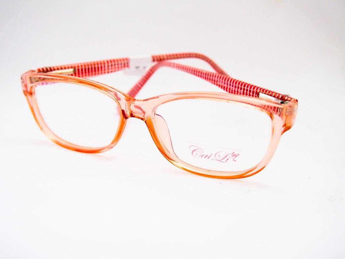 Armação Para Óculos Caili Acetato Infantil Vermelho - R  60,00 em ... 560ec54f44