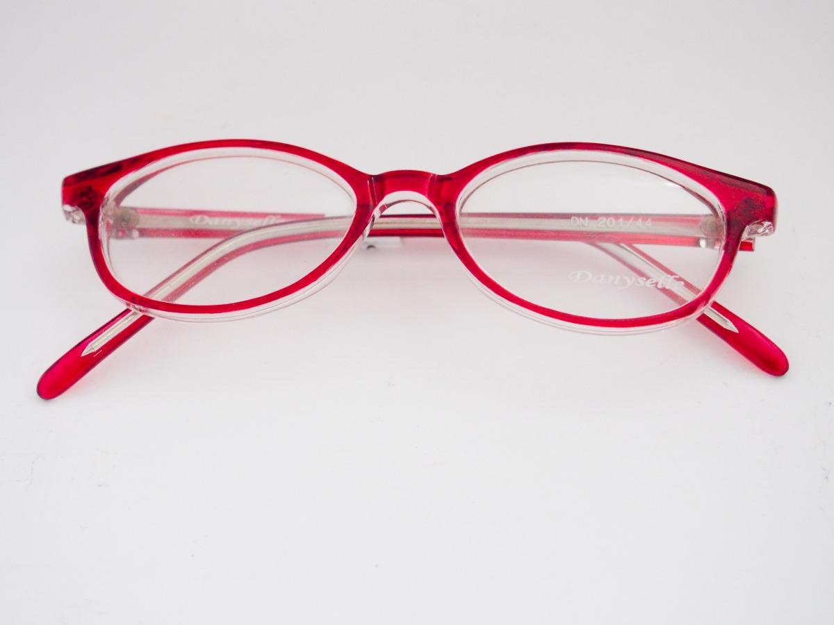 armação para óculos danyselle infantil acetato vermelho. Carregando zoom. 95915267be