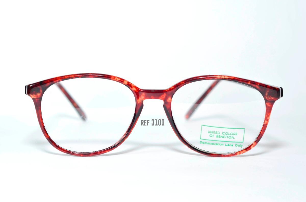 2cf9df33e armação para óculos de grau - acetato - benetton - 3100. Carregando zoom.