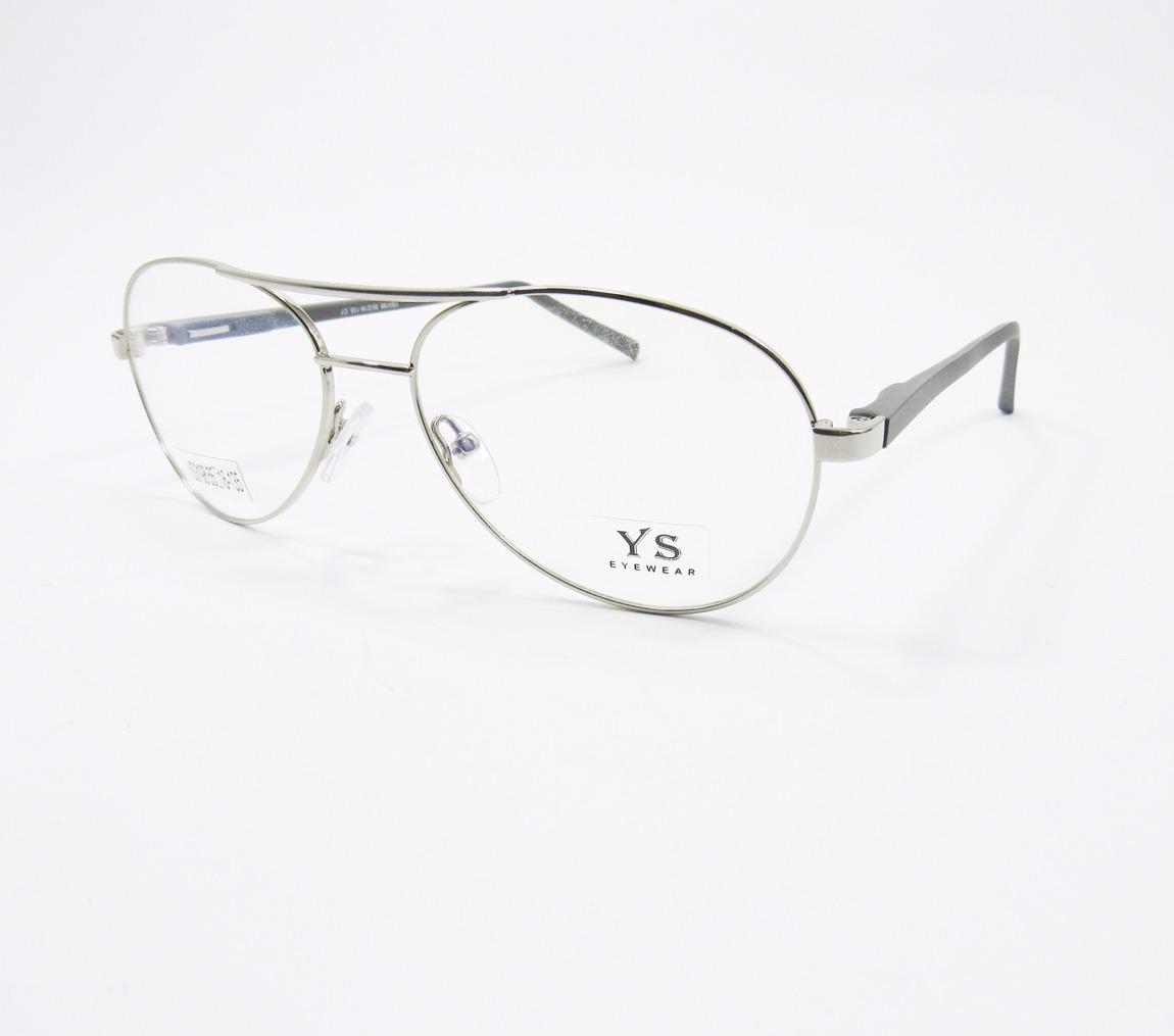 57d03b5c1 armação para óculos de grau aviador troca hastes (prata). Carregando zoom.