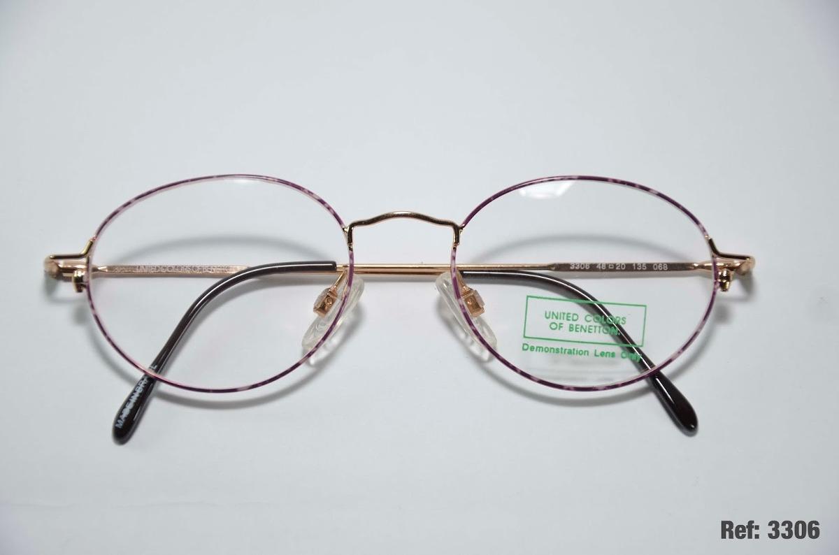 77978613a armação para óculos de grau - benetton - ref: 3306. Carregando zoom.