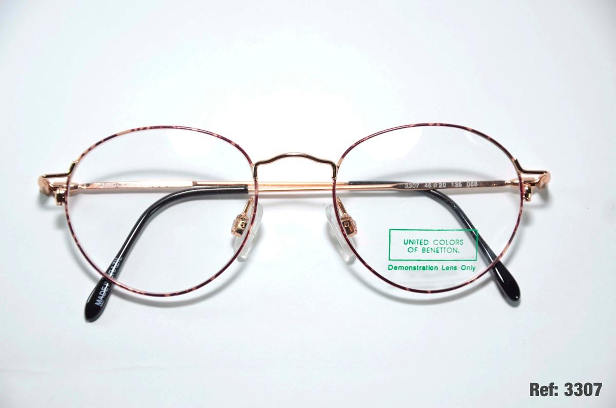 008d1f16c armação para óculos de grau - benetton - ref: 3307. Carregando zoom.