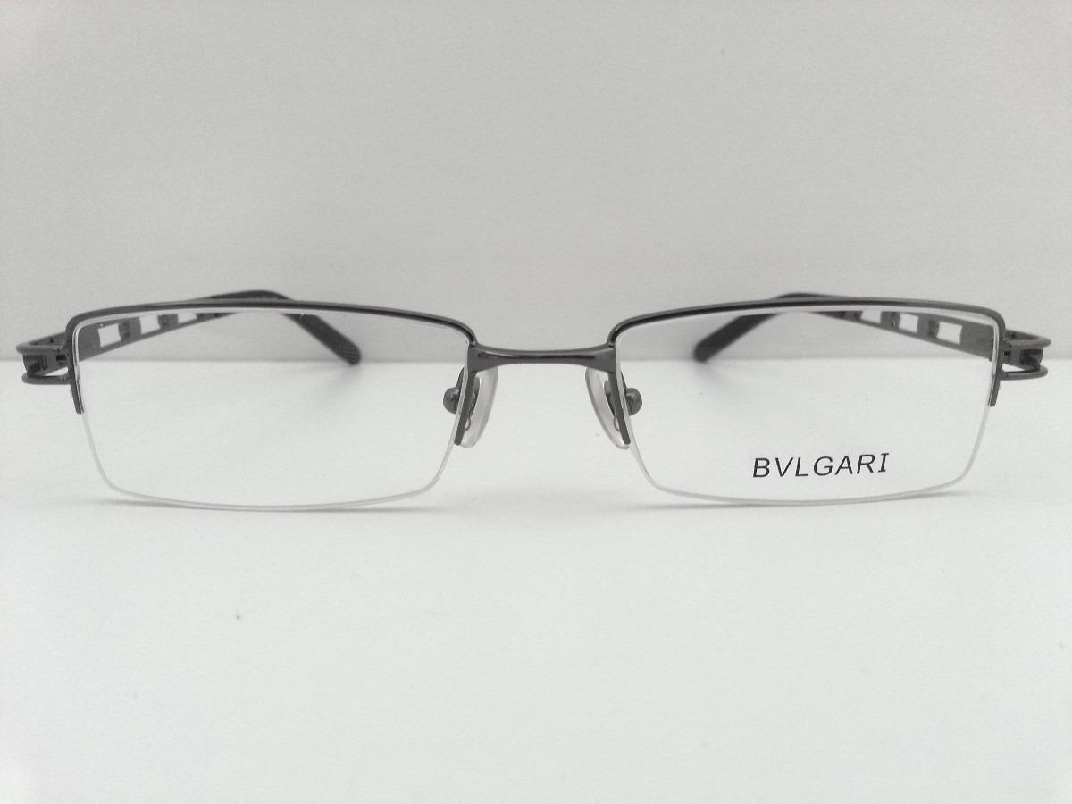 c43cd4dab179d armação para óculos de grau bvlgari grafite. Carregando zoom.