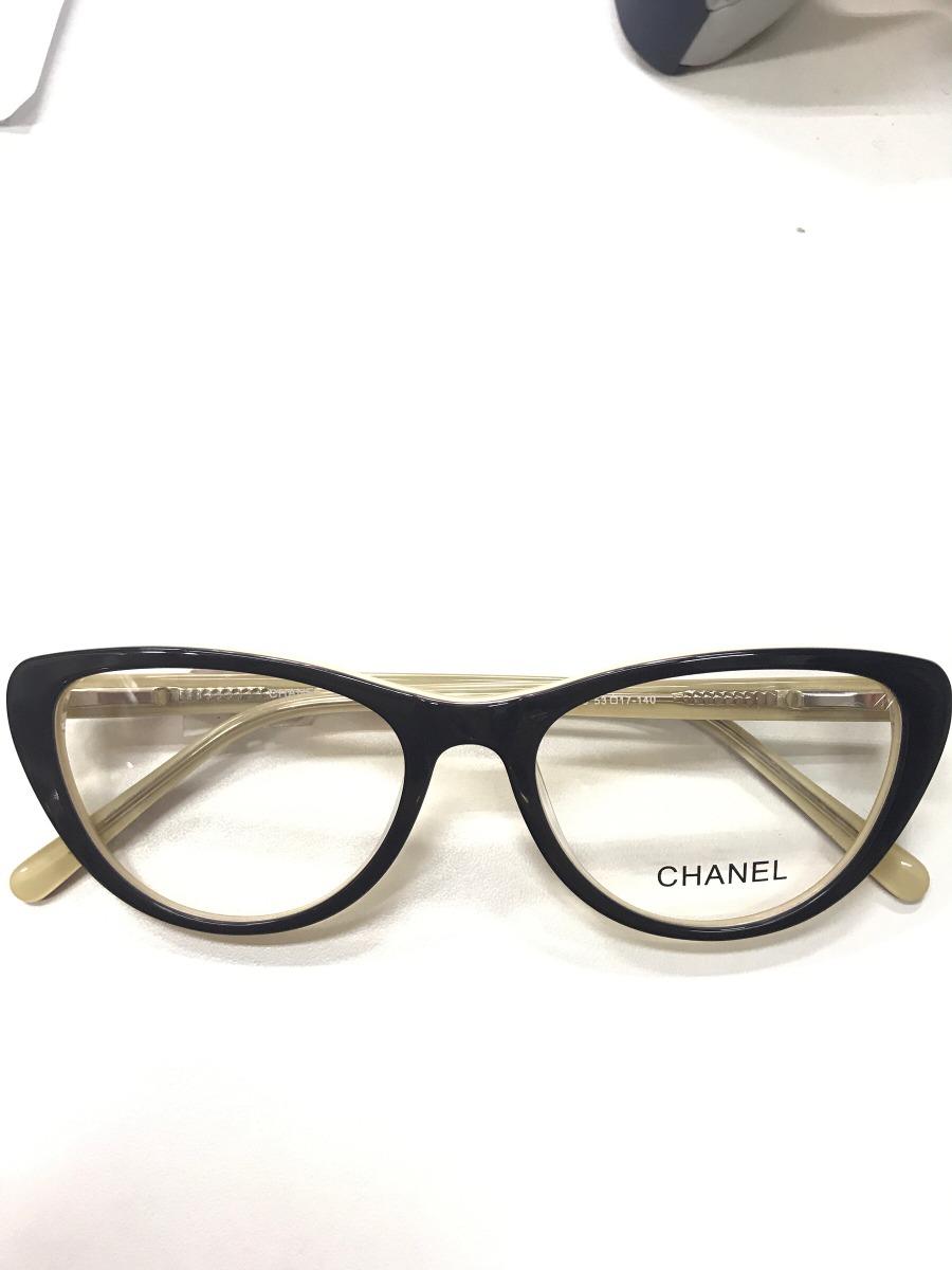 140c460be Armação Para Óculos De Grau Chanel - R$ 69,99 em Mercado Livre