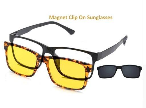 fbd1cf14c75da Armação Para Óculos De Grau Com 2 Clip-on - R  89