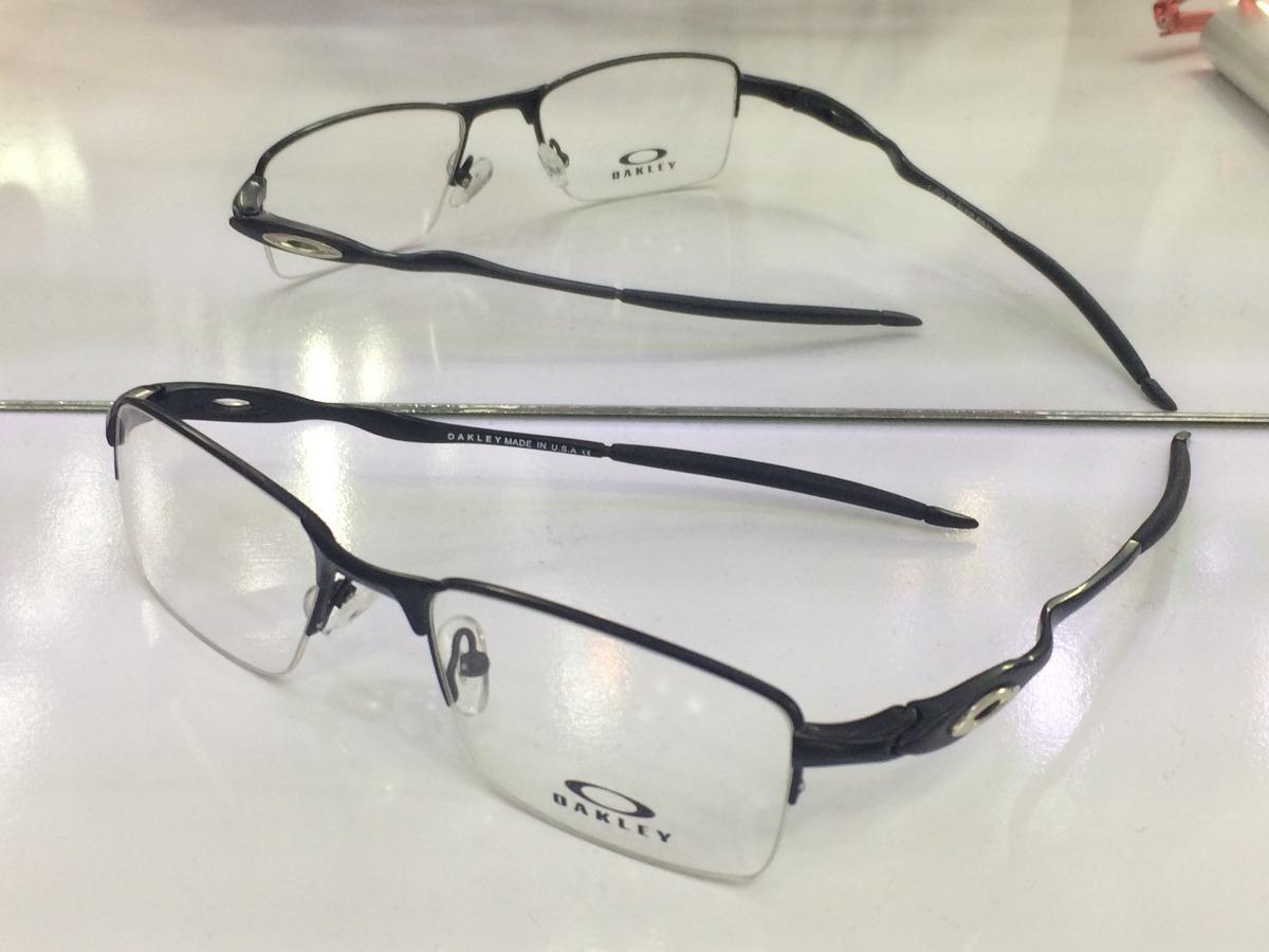 cd9d50ad7 Armação Para Oculos De Grau Crosshair Oakley 11-828 Preta - R$ 95,90 ...