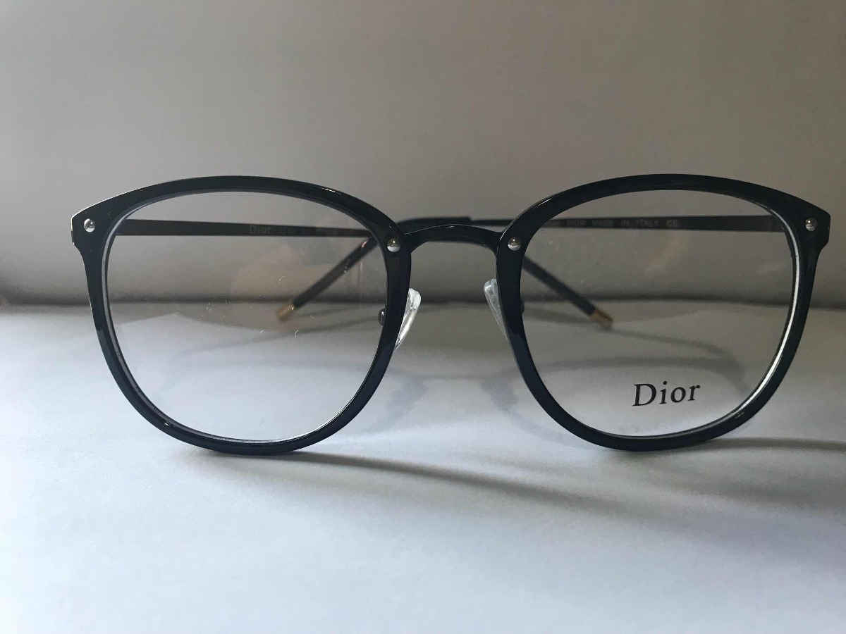 8e2378bfd armação para óculos de grau dior preto quadrado feminino. Carregando zoom.