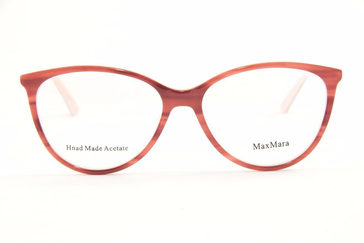ced4551f6be2f armação para óculos de grau feminina max mara 1215. Carregando zoom.