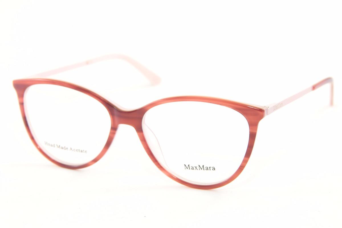 d257c316123ea armação para óculos de grau feminina max mara 1215. Carregando zoom.
