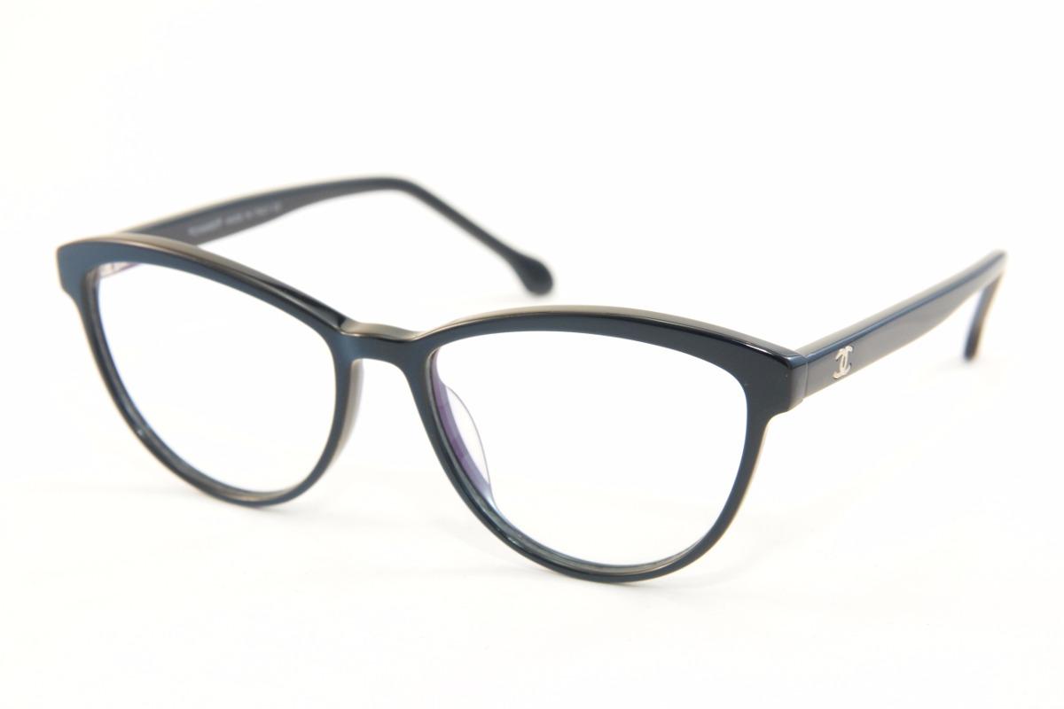 e82ad8a09 Armação Para Óculos De Grau Feminino Chanel 5268 - R$ 129,00 em ...