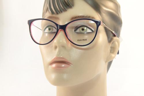 6018d44cdb423 Armação Para Óculos De Grau Feminino Grandes Marcas Mode1215 - R  69 ...