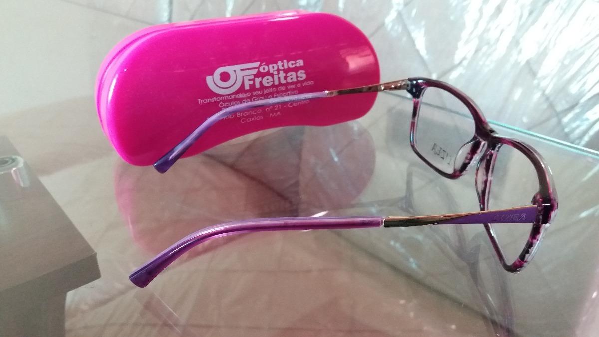 1c830c5ced99b armação para óculos de grau feminino lizea (nova). Carregando zoom.