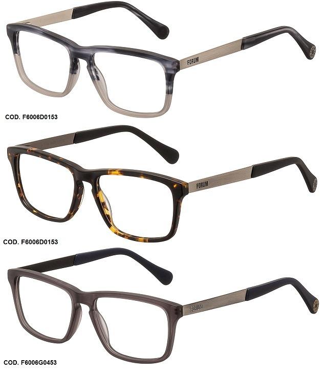 06082eb0bfa9d Armação Para Oculos De Grau Forum F6006 - Garantia - R  249
