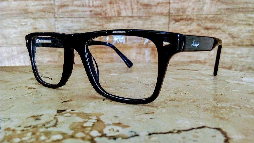 a07b85cbf51a6 armação para óculos de grau - grife (intuição). Carregando zoom.