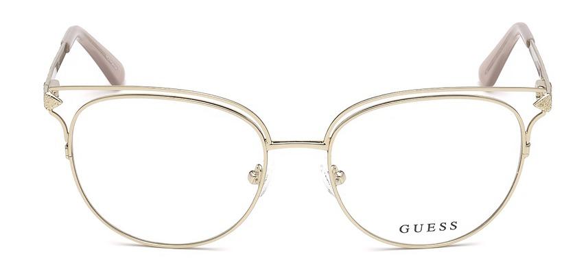 7d1bef2df Armação Para Óculos De Grau Guess Gu2685 - R$ 648,00 em Mercado Livre
