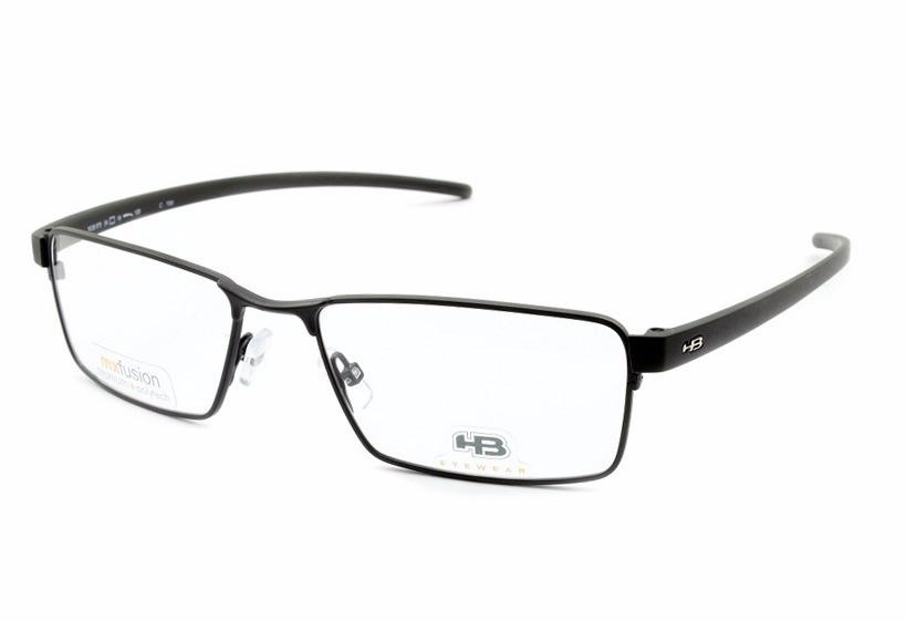 1abbbfff86dc8 Armação Para Óculos De Grau Hb Duotech M93070 C159 54 - R  289,00 em ...