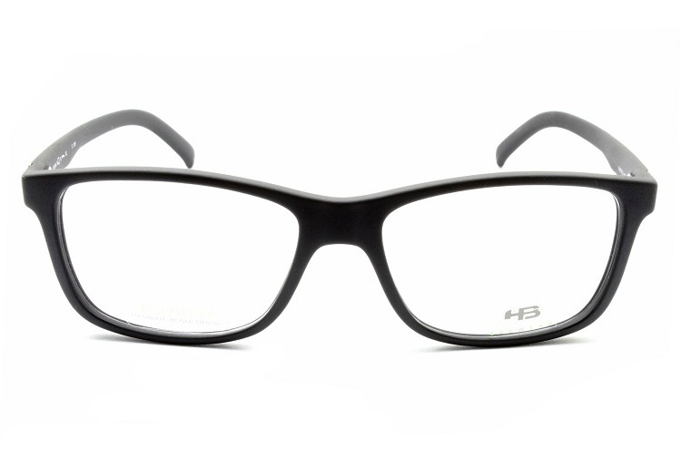 Armação Para Óculos De Grau Hb Polytech Matte Black 93104 - R  269 ... 5a5bbfd2df