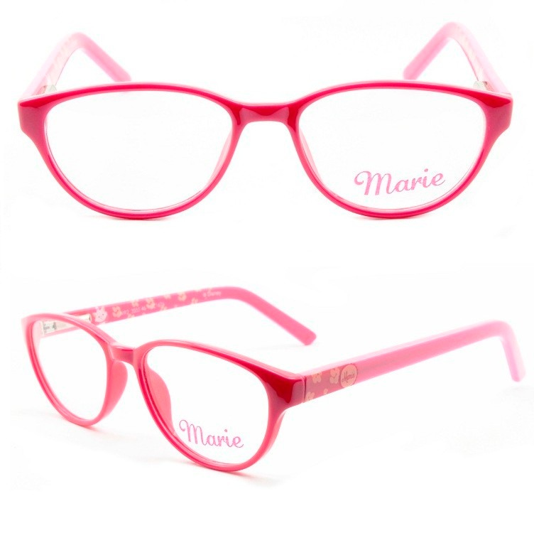 d474b78399858 armação para óculos de grau infantil disney marie - 3555