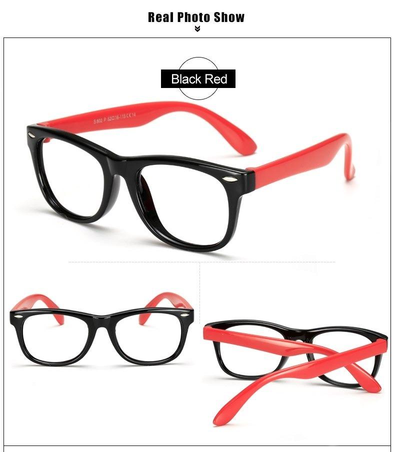 f5cd83591 Armação Para Óculos De Grau Infantil Modelo Flexível Leve - R$ 39,95 ...