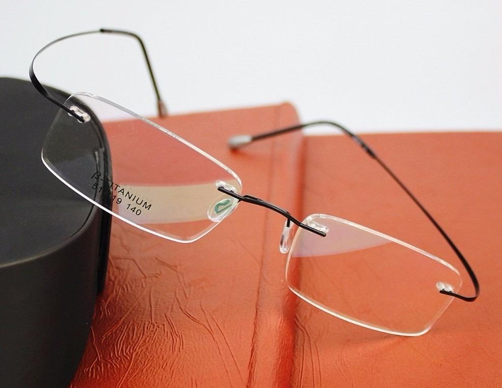 e3c7b486fca07 armação para óculos de grau m 1 titanio flexivel. Carregando zoom.