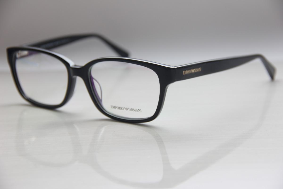 Armação Para Óculos De Grau Masculina Feminina Armani - R  99,00 em ... 5eb7ee638c