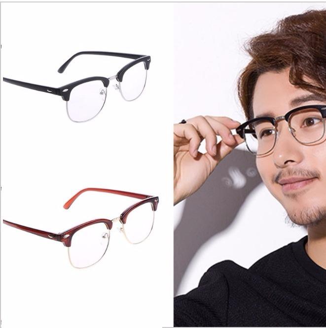 07a2b9d8ec2ac Armação Para Óculos De Grau Masculina Feminina Moderna Luxo - R  99 ...
