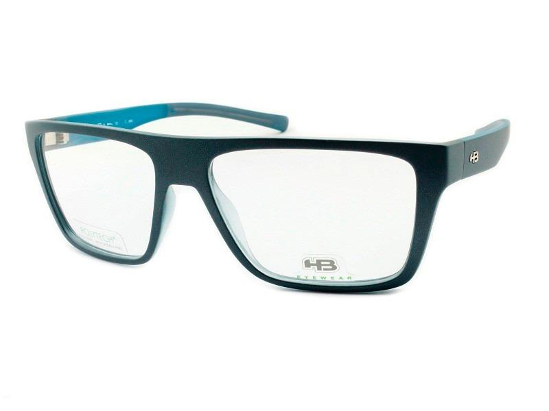 e1ee6501bb262 armação para óculos de grau masculina hb - m 93128. Carregando zoom.