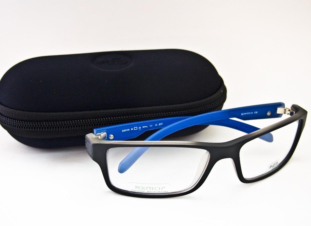 75da23646 Armação Para Óculos De Grau Masculina Hb Polytech M 93018 - R$ 249 ...