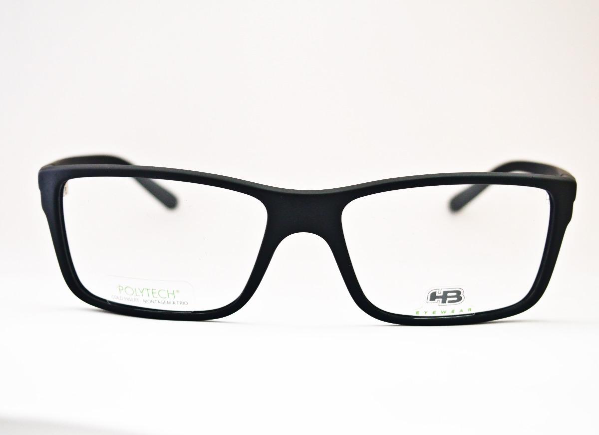 armação para óculos de grau masculina hb polytech m 93024. Carregando zoom. 372de9bfde