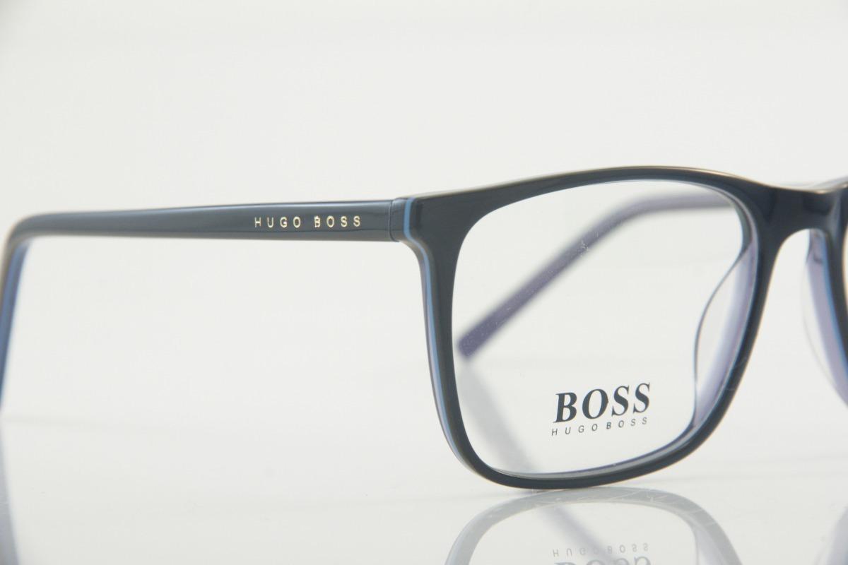 6216ca6235b4b armação para óculos de grau masculina importada hugo boss cs. Carregando  zoom.