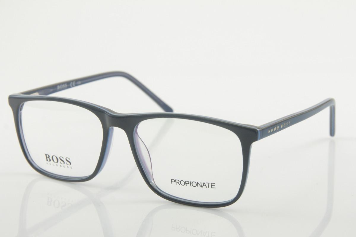 f51eca69aec9b armação para óculos de grau masculina importada hugo boss cs. Carregando  zoom.