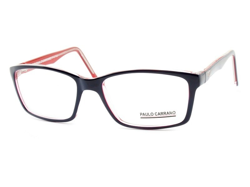 e88f4af84199d armação para óculos de grau masculina paulo carraro - 6033. Carregando zoom.
