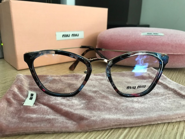Armação Para Óculos De Grau Miu Miu Havana Gatinho Cateye - R  249 ... 0d10e45aed