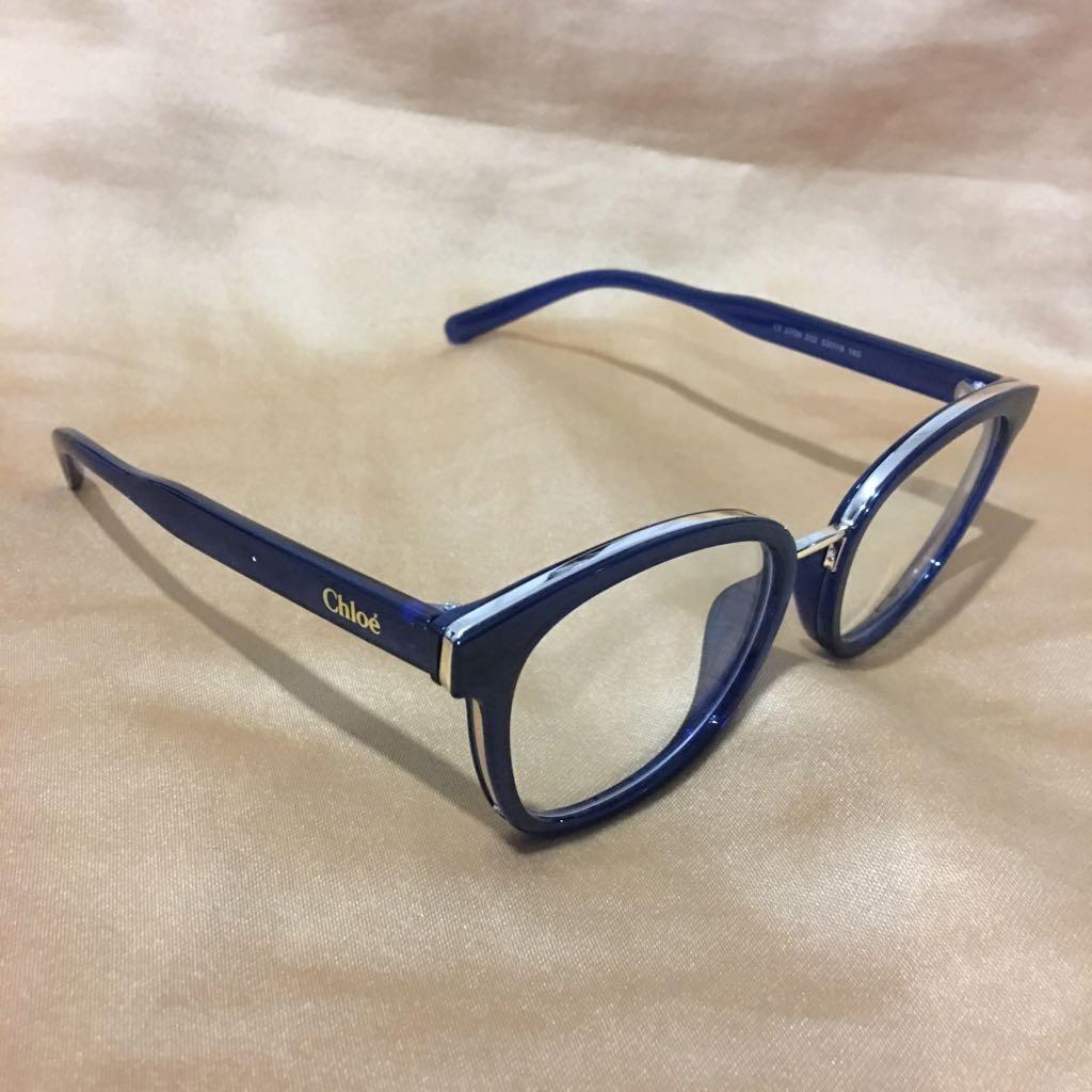 1d8322de5 armação para óculos de grau modelo azul feminino. Carregando zoom.