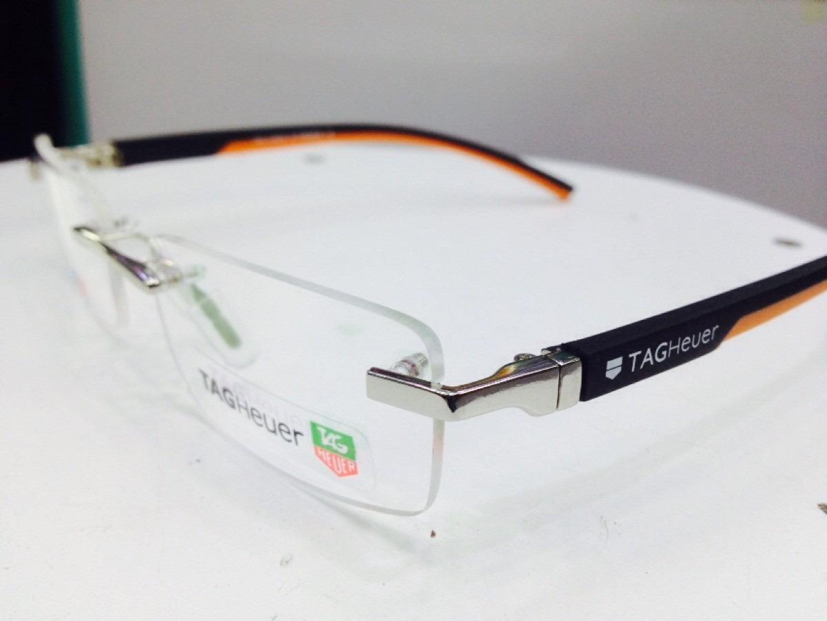 Armação Para Óculos De Grau Modelo Tagheuer Sem Aro - R  98,90 em ... 20631edaf8