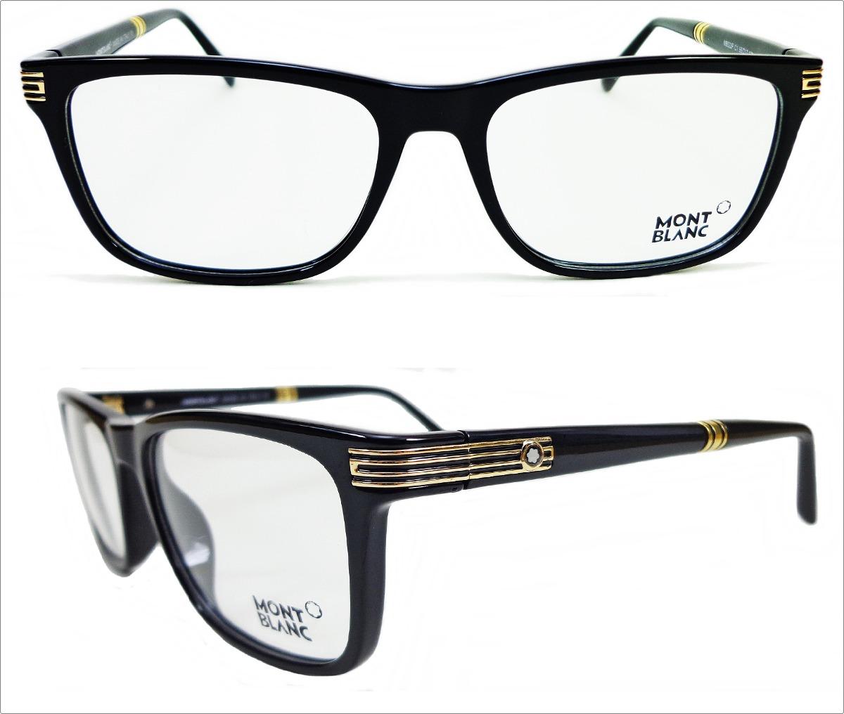 890ea20333608 armação para óculos de grau mont blanc frete gratis. Carregando zoom.