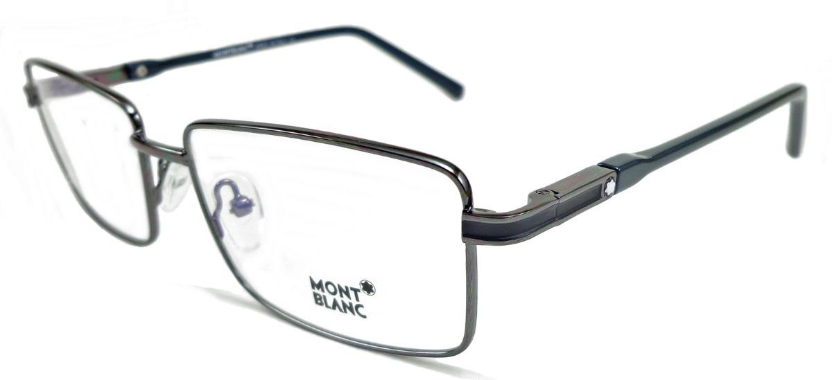 163814bb53801 Armação Para Óculos De Grau Mont Blanc Mb31