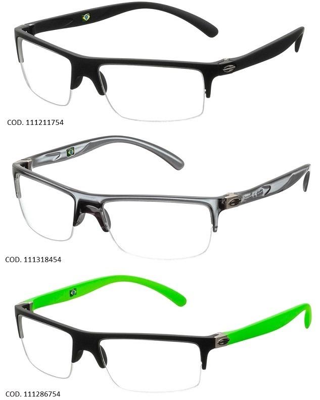 72d53c7614d26 Armação Para Oculos De Grau Mormaii Eclipse - Garantia - R  279